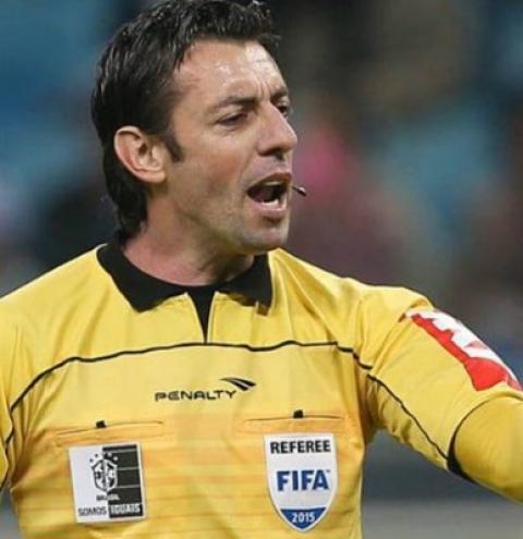 O barbarense Raphael Claus é eleito  o melhor árbitro do Brasileirão