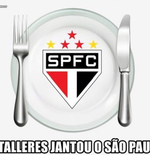 Eliminação do São Paulo para o Talleres rende memes e trocadilhos na web