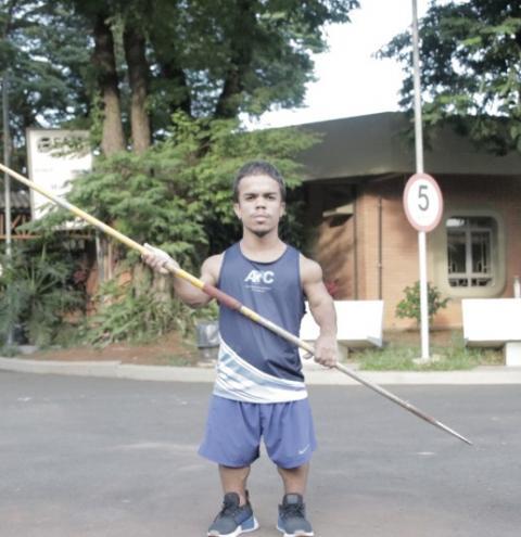 Jair Henrique é convocado pela 1ª vez para Seleção Brasileira de Paralímpica