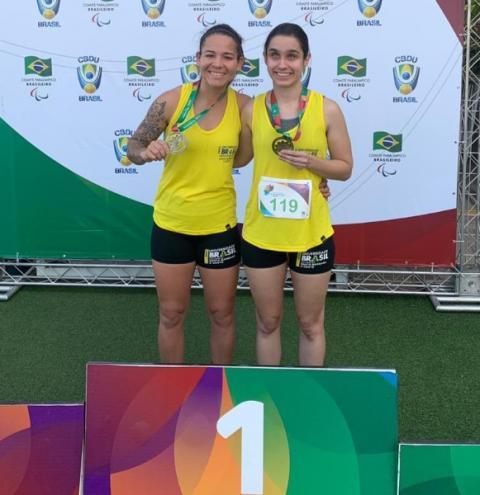 Atleta de S.Bárbara leva ouro e prata nas Paralimpíadas Universitárias