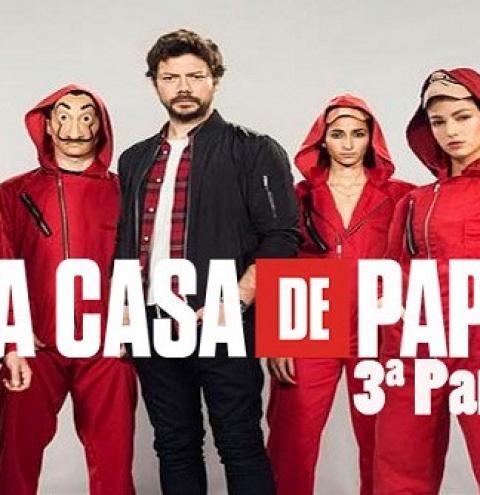 La Casa de Papel: 3ª temporada foi vista mais de 34 milhões de vezes na semana de estreia, afirma Netflix