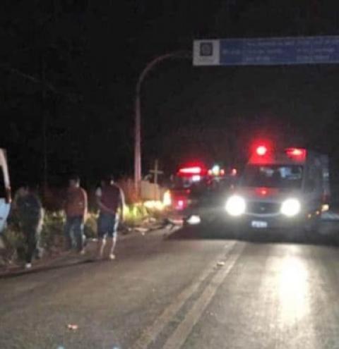 Luan Santana se envolve em acidente em estrada no Mato Grosso