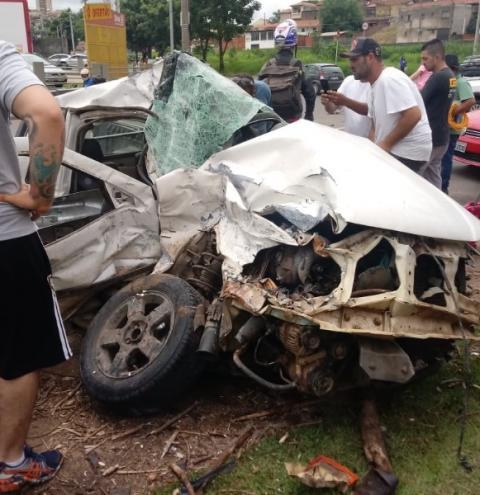 Caminhão de lixo fica sem freio e mata casal em Piracicaba